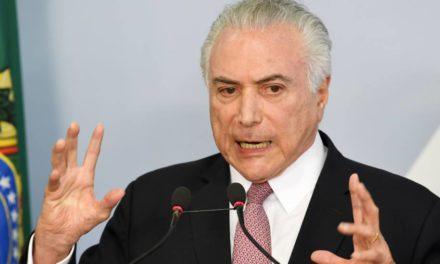 Após prisões de aliados, Michel Temer cancela viagem e fica em Brasília