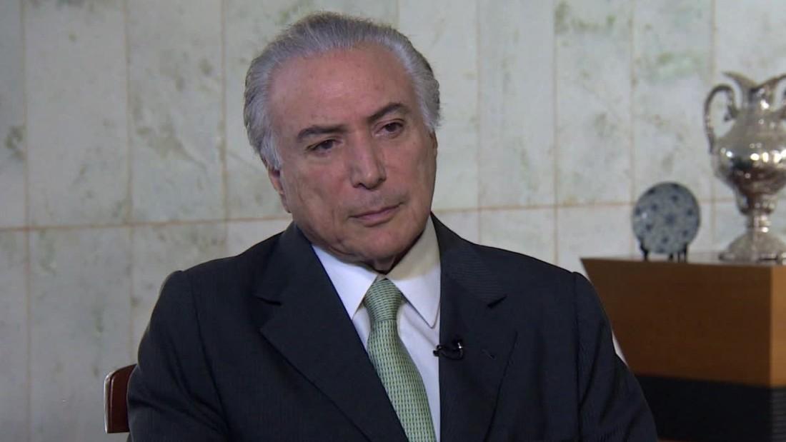Ministro do STF quebra sigilo bancário de Temer; presidente garante divulgação total