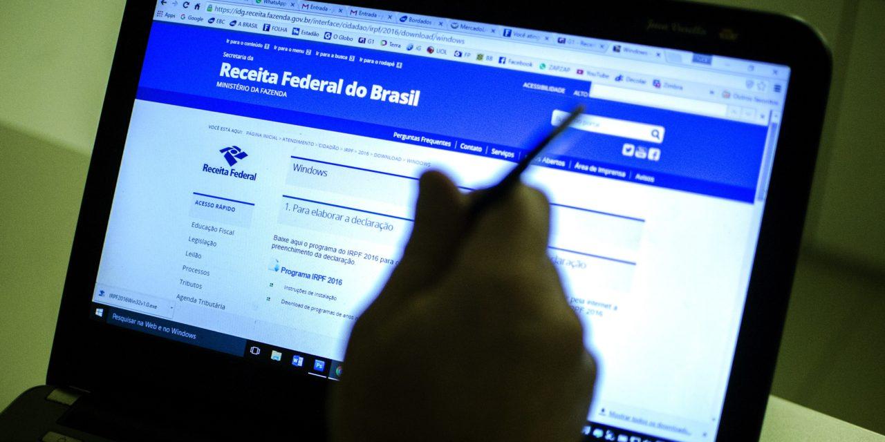 Receita Federal recebeu mais de 500 mil declarações do IR em dois dias