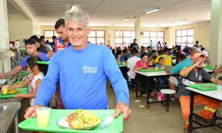 40 mil refeições servidas por mês no Restaurante Popular de Aparecida de Goiânia