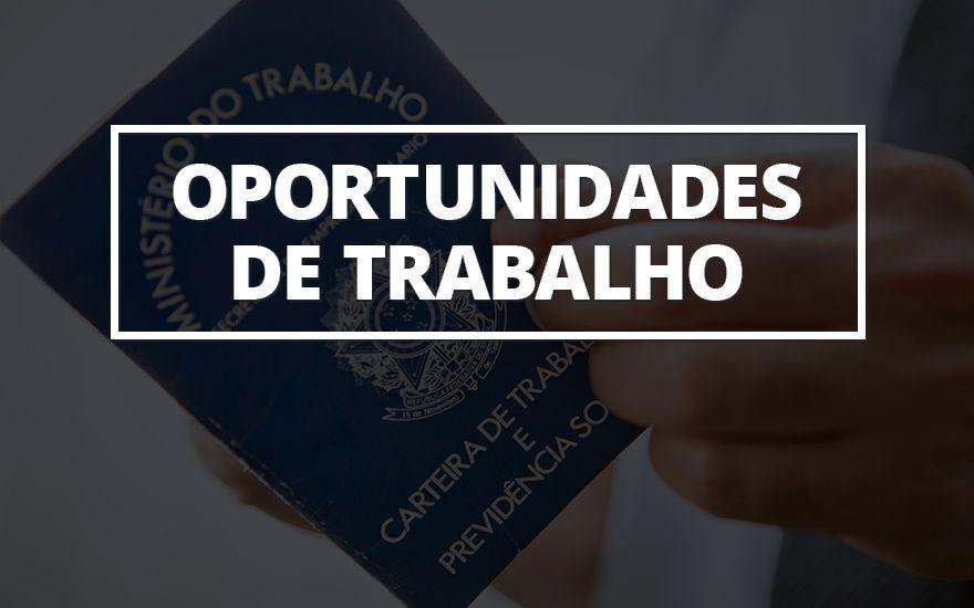 Senac abre inscrições para vagas de emprego em Quirinópolis e Alexânia