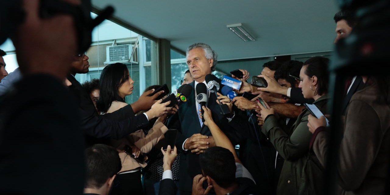 Governo de Goiás vai receber socorro financeiro de Brasília, diz Caiado