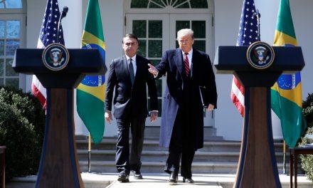 Trump diz querer Bolsonaro como aliado na Otan, organização militar de defesa