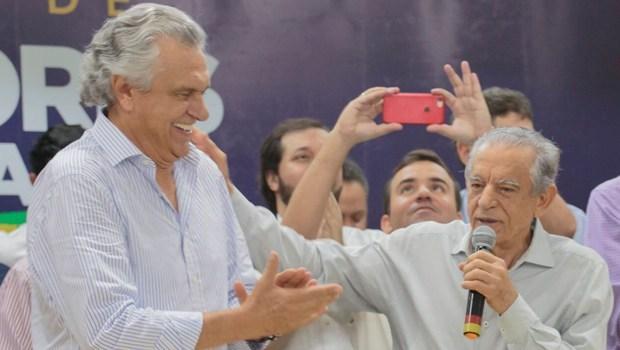 Em reunião, Iris e Caiado acordam privatização da Metrobus