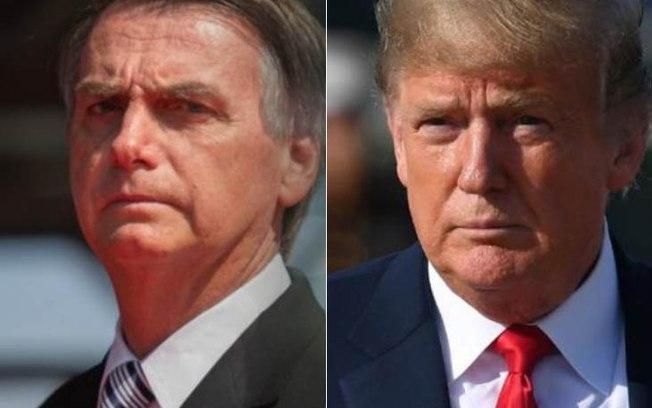 No 3º dia da visita aos EUA, Bolsonaro será recebido por Trump na Casa Branca