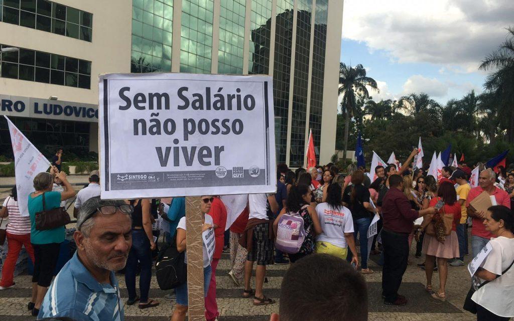 Sem resposta satisfatória do Estado, Sintego realiza assembleia para definir rumos da greve
