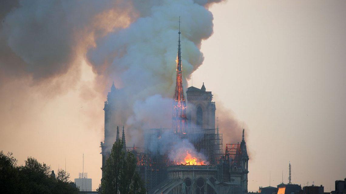 Doações para reconstrução de Notre-Dame somam US$ 900 milhões