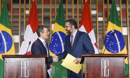 Brasil e Suíça querem ampliar parcerias
