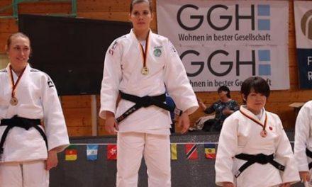 Brasileiros conquistam três ouros no judô paralímpico na Alemanha