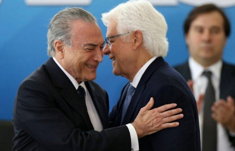 Michel Temer, Moreira e mais 12 viram réus na Lava Jato do Rio
