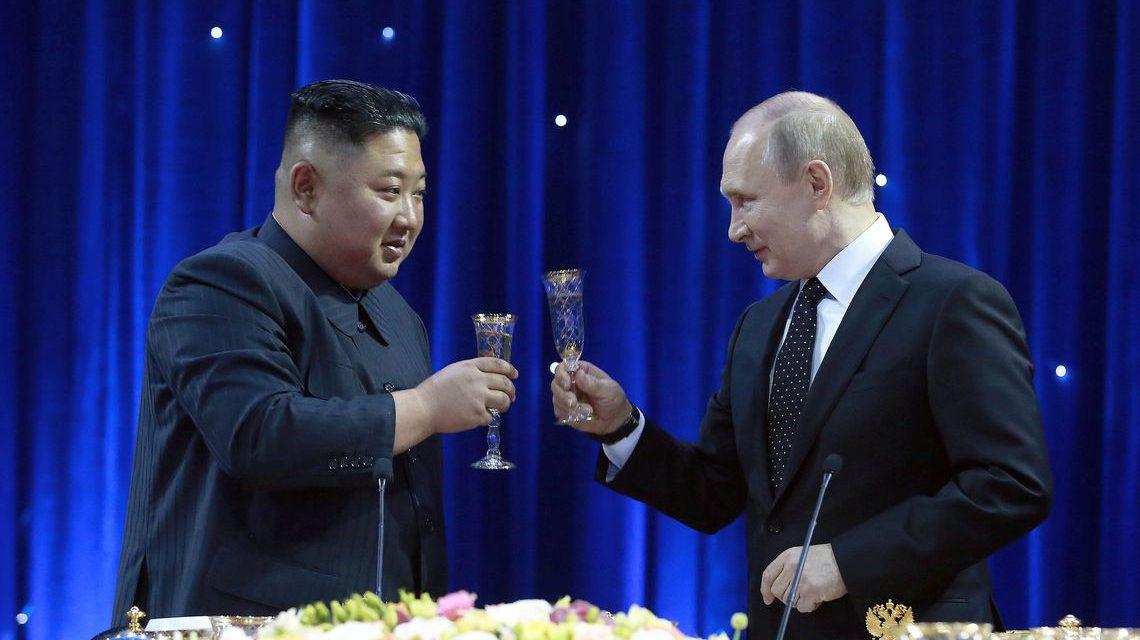 Kim e Putin selam aproximação