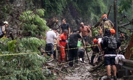 Sobe para 10 o número de mortos na chuva do Rio