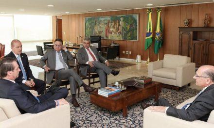'Nada se falou sobre cargos', diz Bolsonaro sobre reuniões com presidentes de partidos
