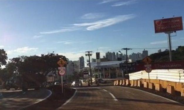 Prefeitura de Goiânia libera pista provisória das avenidas 136 e Jamel Cecílio