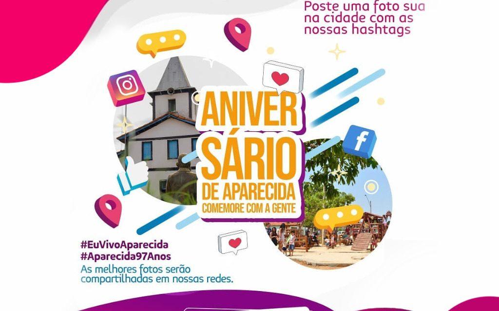 Prefeitura lança campanha #EuVivoAparecida