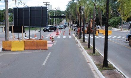 Novas obras de trânsito em Goiânia ocorrem em pontos de congestionamentos históricos