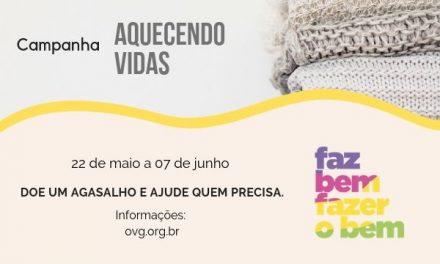 OVG faz campanha para arrecadar agasalhos para moradores de rua e instituições sociais, em Goiânia