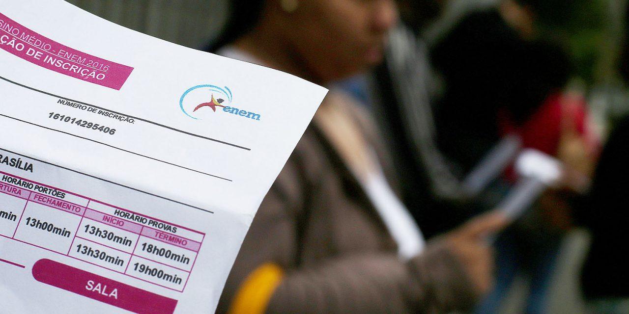 Termina hoje (23) o prazo para pagar a taxa de inscrição do Enem