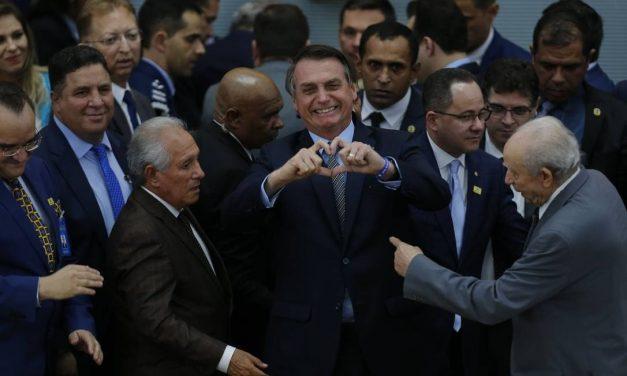 'Será que não está na hora de termos um ministro evangélico no STF?', questiona Bolsonaro
