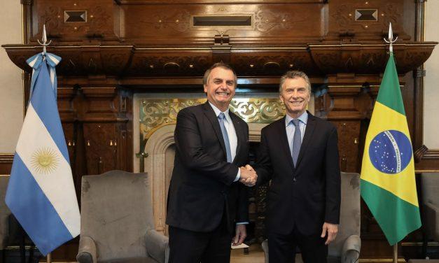 Bolsonaro diz que definiu ações para aprofundar parceria com Argentina