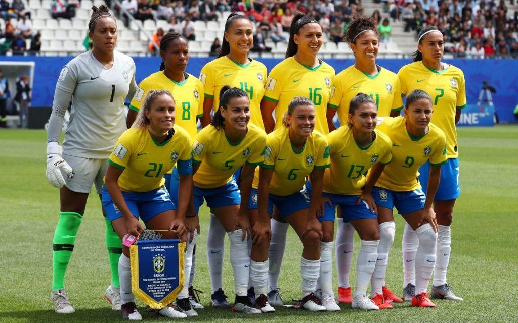Seleção feminina enfrenta hoje a Austrália na segunda rodada da Copa do Mundo