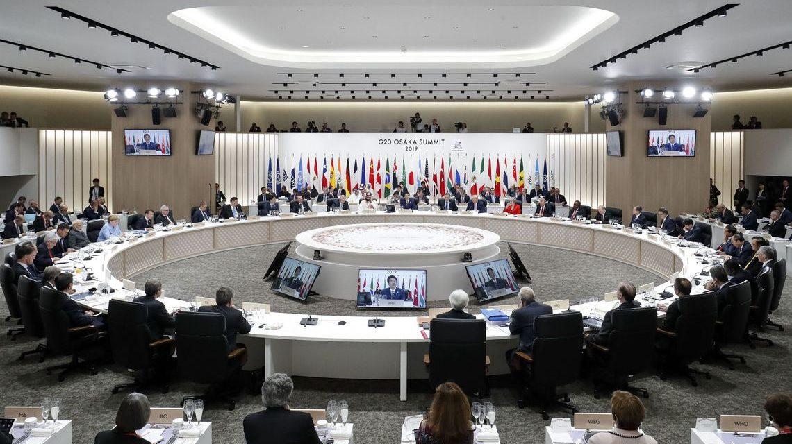Começa reunião de cúpula do G20 no Japão