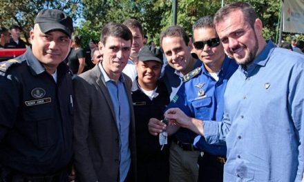 Em Aparecida, 15 novas viaturas são entregues à Guarda Civil Municipal