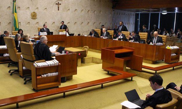 Plenário do STF vai julgar ação contra prisões após segunda instância