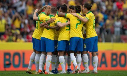 Brasil e Bolívia abrem hoje a Copa América