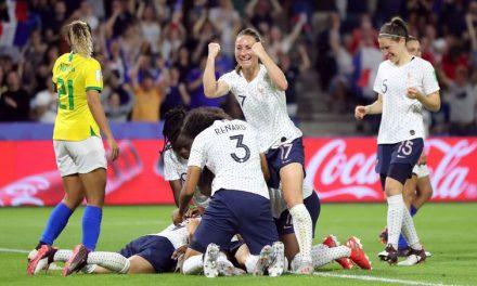 França vence e elimina o Brasil na prorrogação