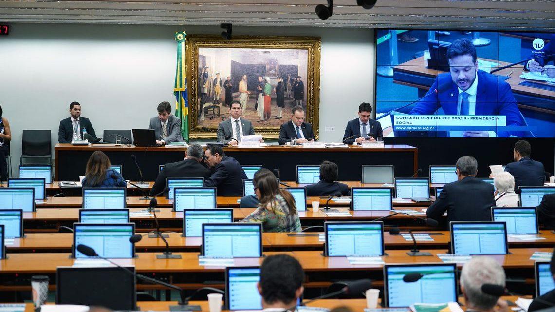 Comissão encerra discussão do parecer da reforma da Previdência