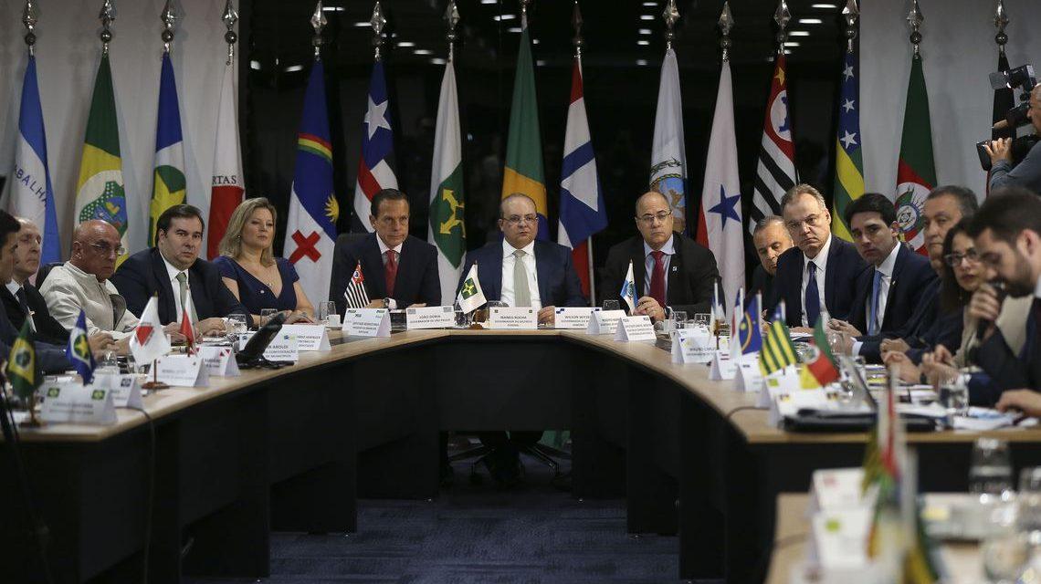 Governadores apresentam condições para apoiar reforma da Previdência