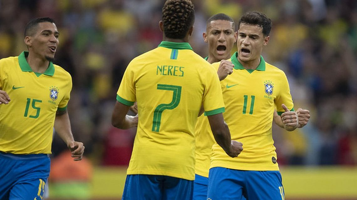 Brasil pega o Paraguai nas quartas de final da Copa América