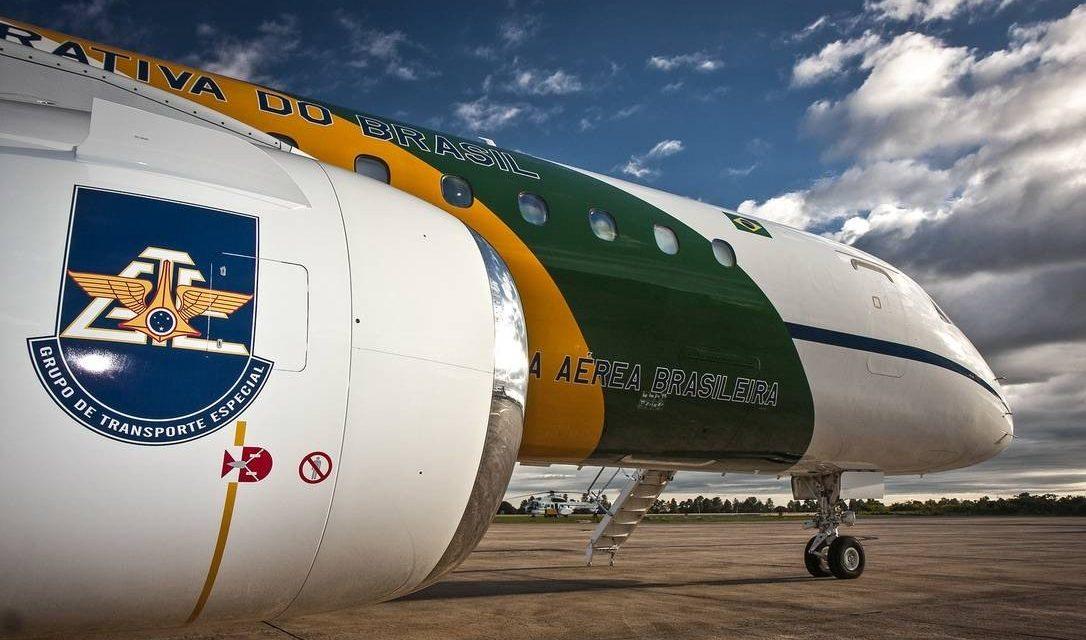 Preso militar em voo de comitiva de Bolsonaro