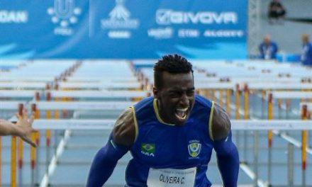 Universíade: Gabriel Constantino ganha ouro nos 110m com barreiras