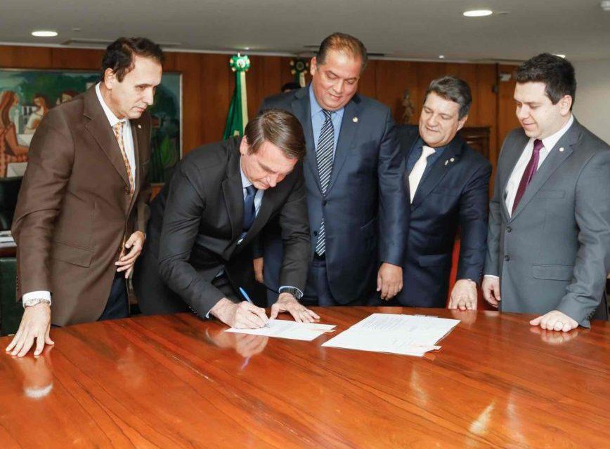 Bolsonaro assina lei que cria a Universidade Federal do Norte do Tocantins