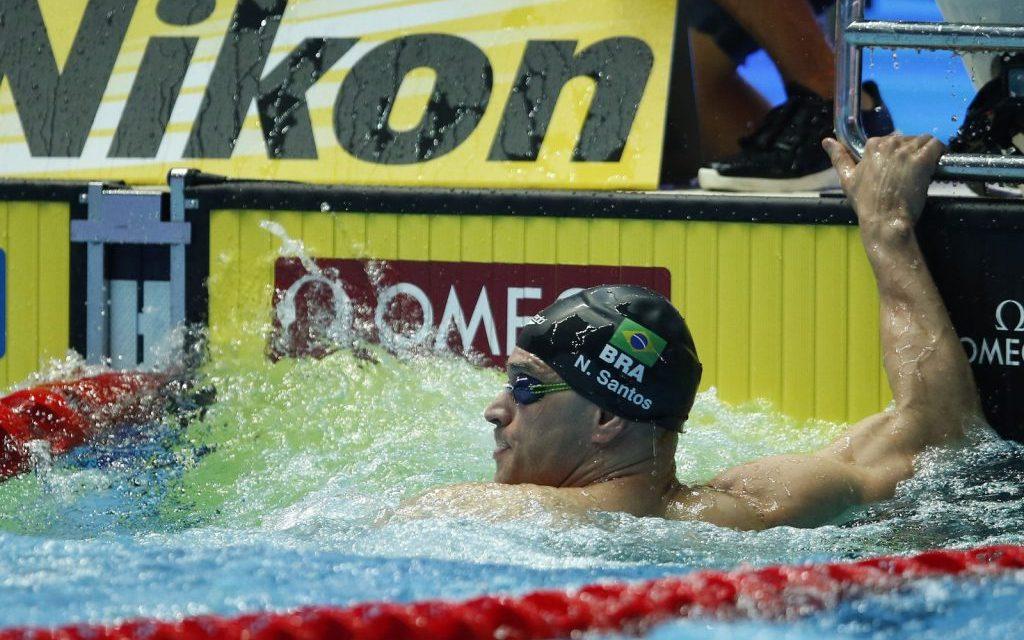 Nicholas leva bronze nos 50 m borboleta no Mundial de Esportes Aquáticos