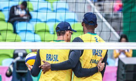 Pan: Brasil vence no vôlei de praia e estreia no squash e boliche