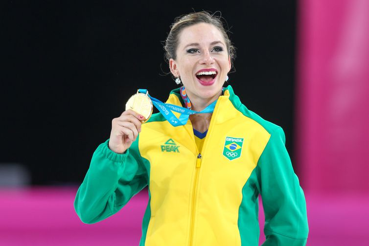 Pan: patinação artística feminina do Brasil ganha ouro inédito