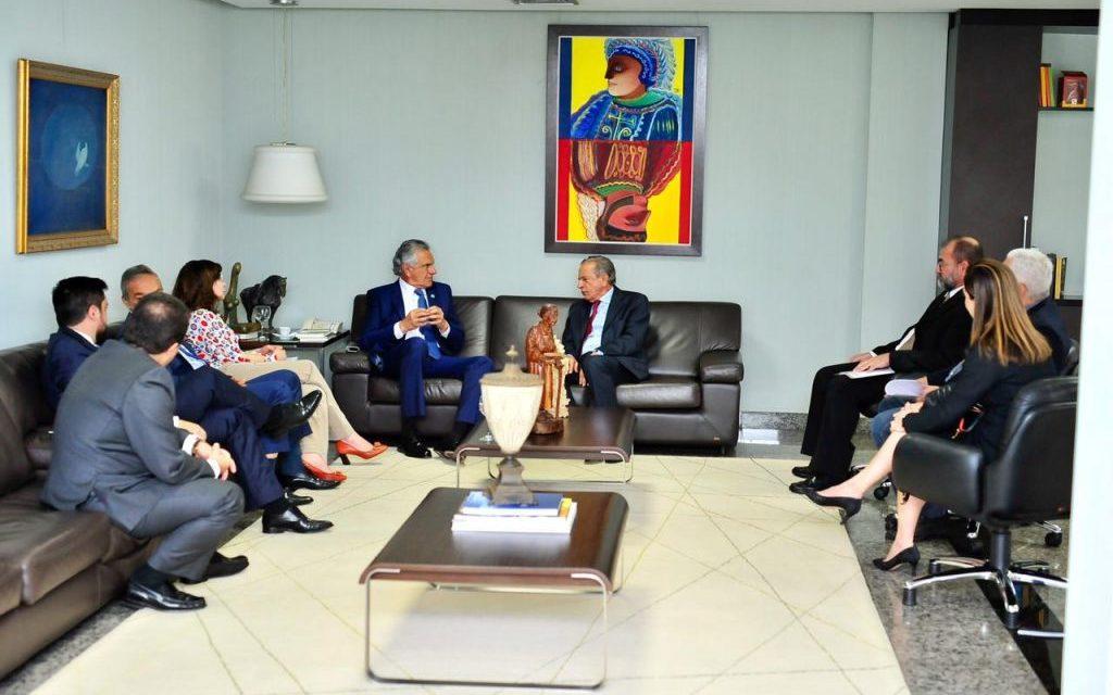 Caiado e Iris discutem sobre transferência da concessão do Eixo Anhanguera para o município