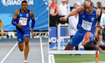 Brasil conquista mais dois ouros no atletismo na Universíade