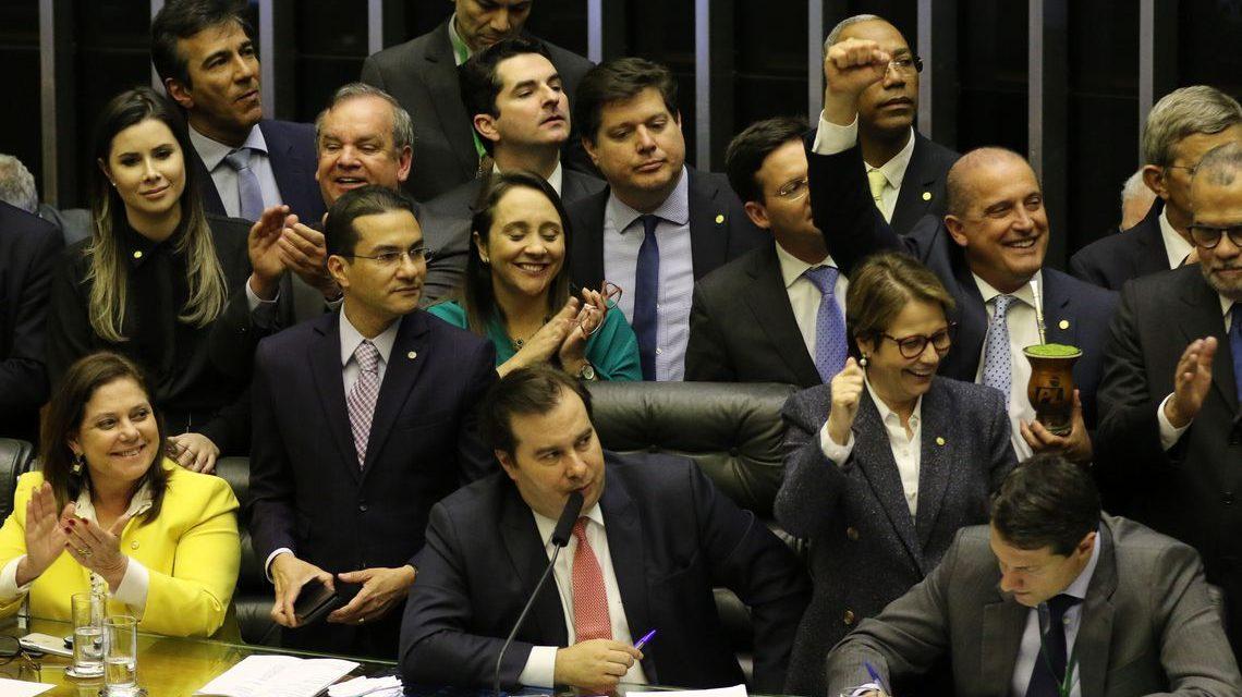 Câmara conclui votação da reforma da Previdência em primeiro turno