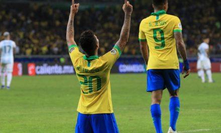 Copa América: Brasil elimina Argentina e se garante na final