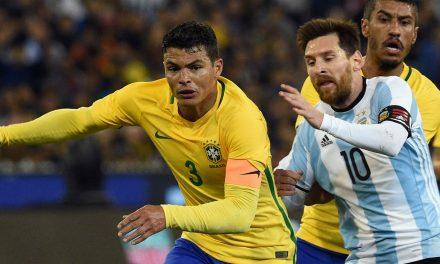 Brasil e Argentina decidem hoje quem vai à final da Copa América
