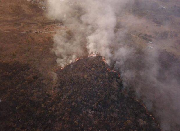 Incêndios florestais aumentam 31,9% entre janeiro e junho de 2019 em Goiás