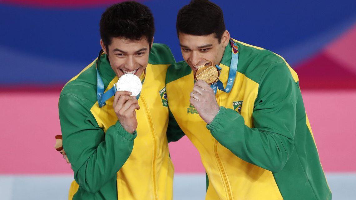 Ginástica do Brasil tem mais 4 medalhas e faz melhor campanha no Pan
