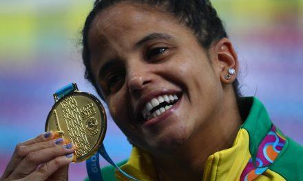 Etiene e Fratus brilham nos 50m livre, e Brasil leva mais seis medalhas na natação no Pan de Lima