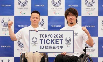 Compra de ingresso para Jogos Paralímpicos 2020 tem inscrições abertas