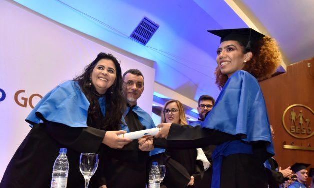 Faculdade Senac realiza solenidade de colação de grau em Goiânia