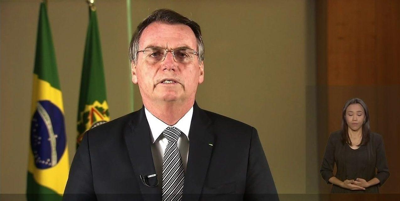 Bolsonaro promete 'tolerância zero' com crime ambiental em pronunciamento na TV sobre Amazônia